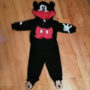 Disney Baby set of pants and hoodie size 0/3 & 3/6